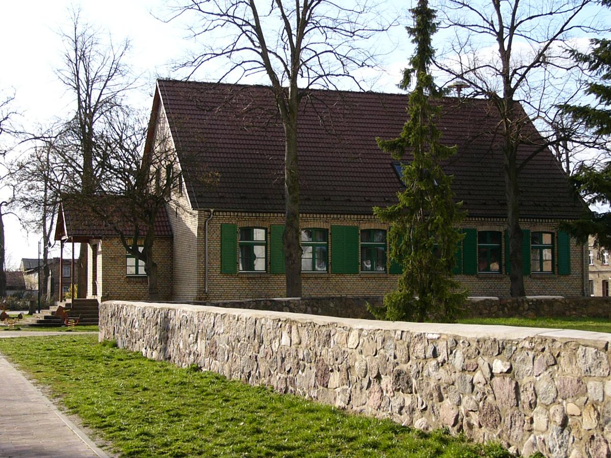 Ruhlsdorf-Museum im Gebäude der alten Schule