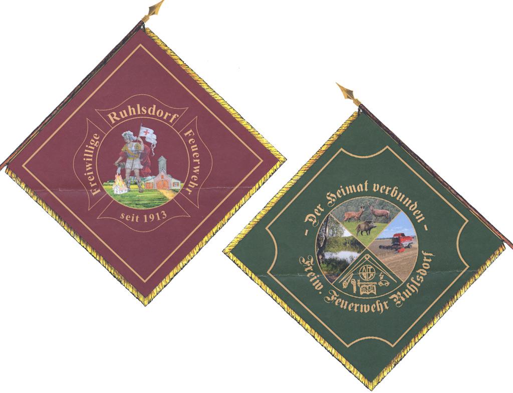 Feuerwehr-Fahne