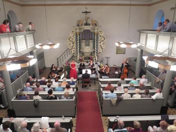 Konzert in der Ruhlsdorfer Kirche
